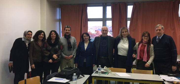 First Target institutional workshop in Marseille