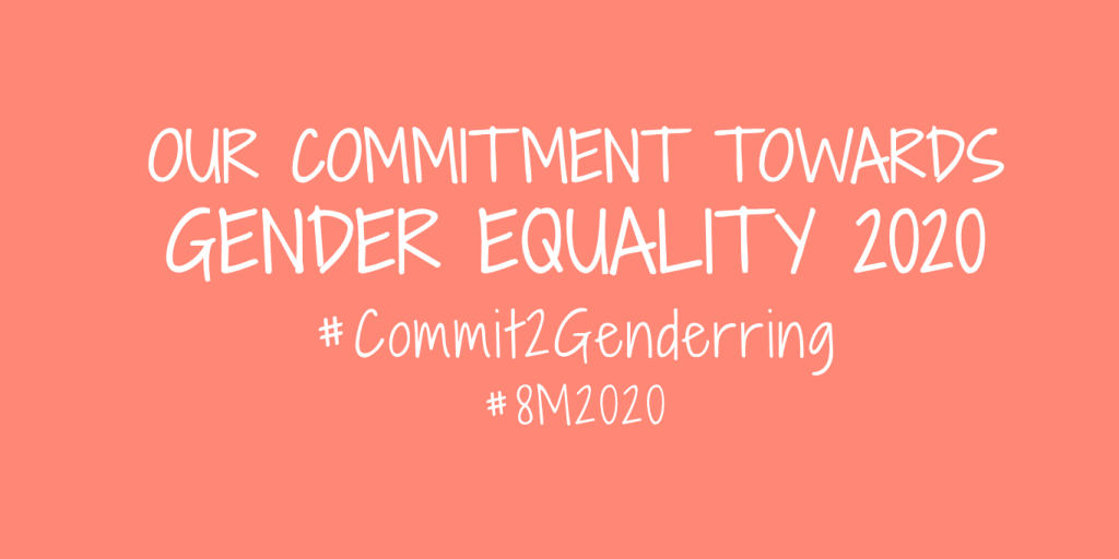 Commit to genderring campaign