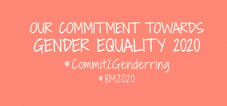 #Commit2Genderring, the Twitter campaign for the #8M2020